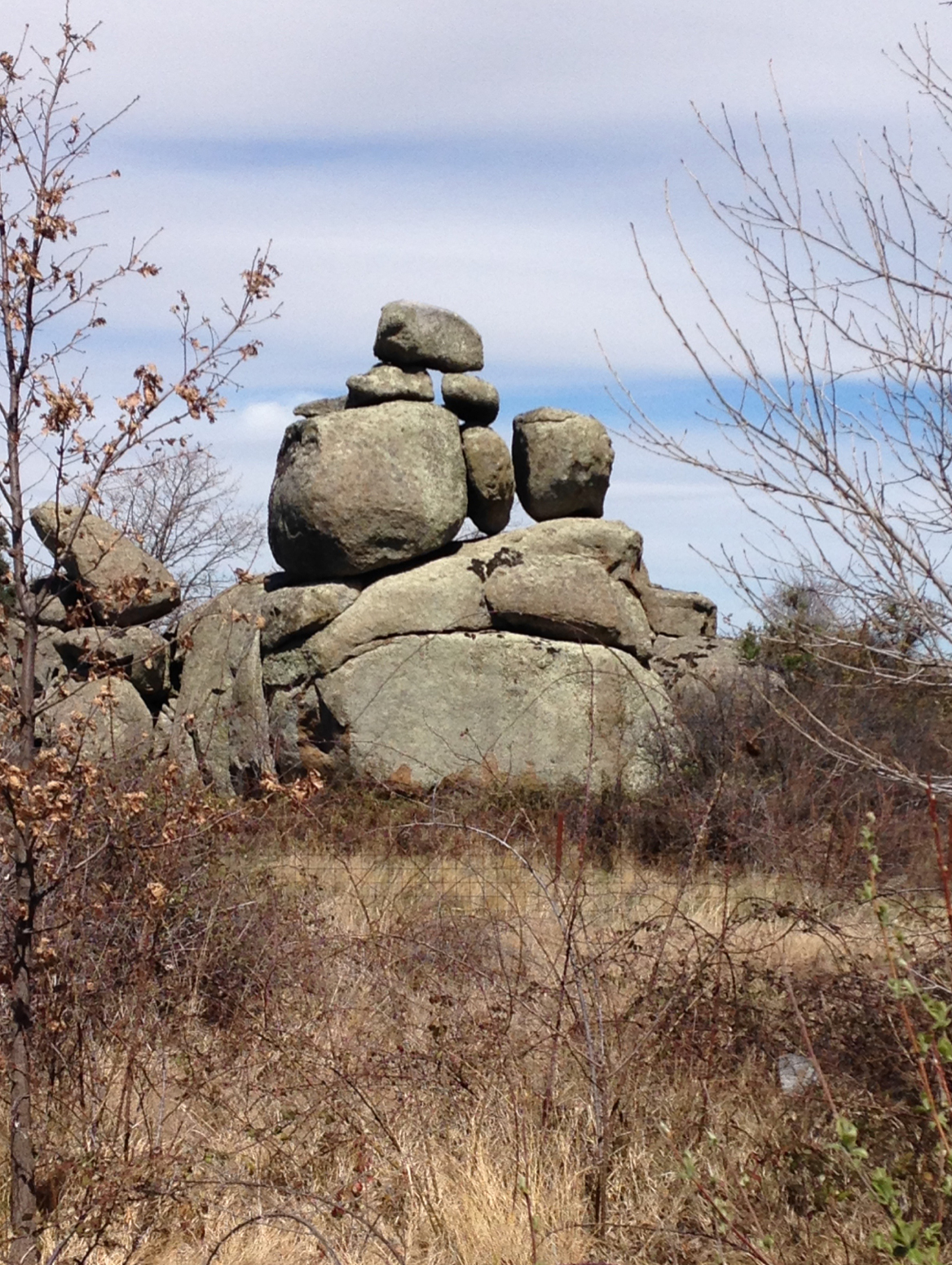 Rock formations, Salamanca, Spain